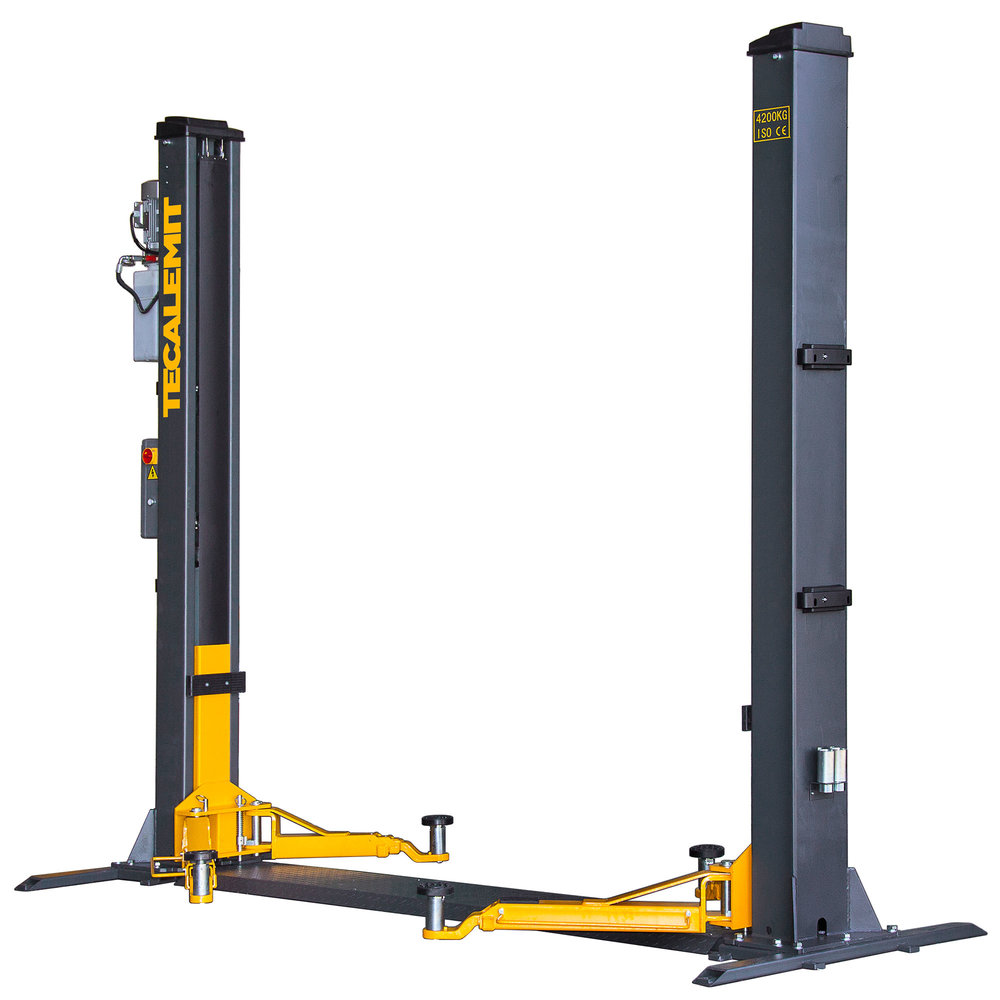 TECB242 - 4.2 Tonne 2 Post Base Plate Hoist