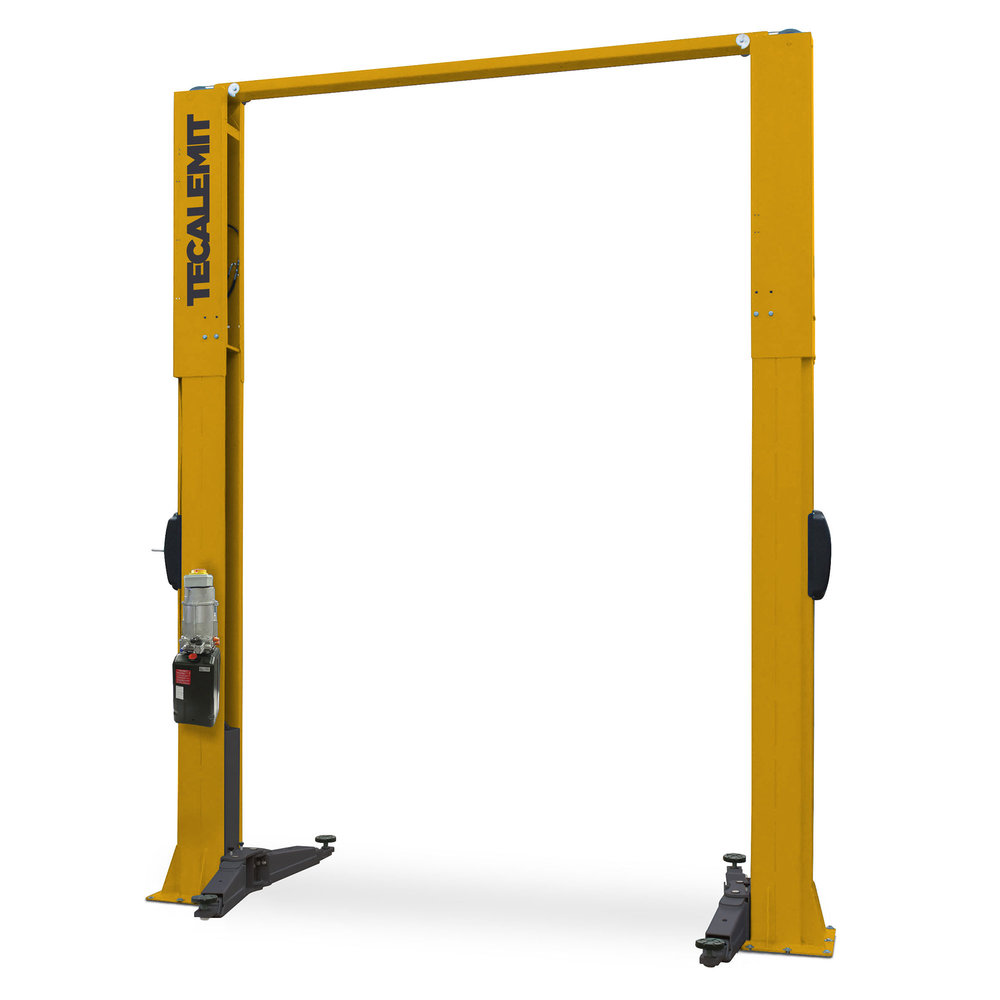 TECG242C - 4.2 Tonne 2 Post Clear Floor Hoist