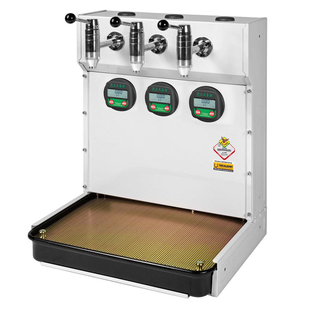 37686 - Triple Tap Oil Bar With Meters