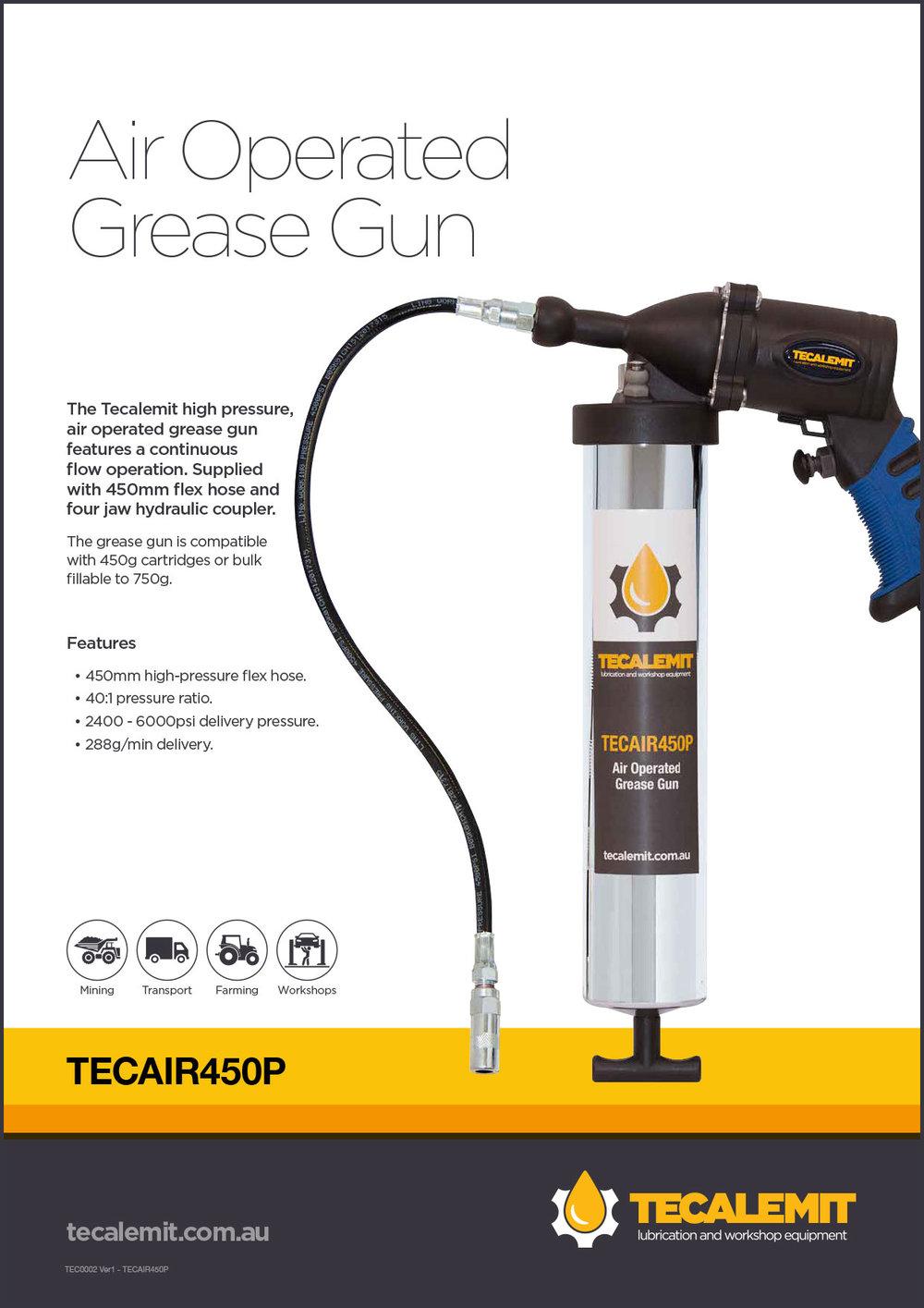 TECAIR450P Product Info