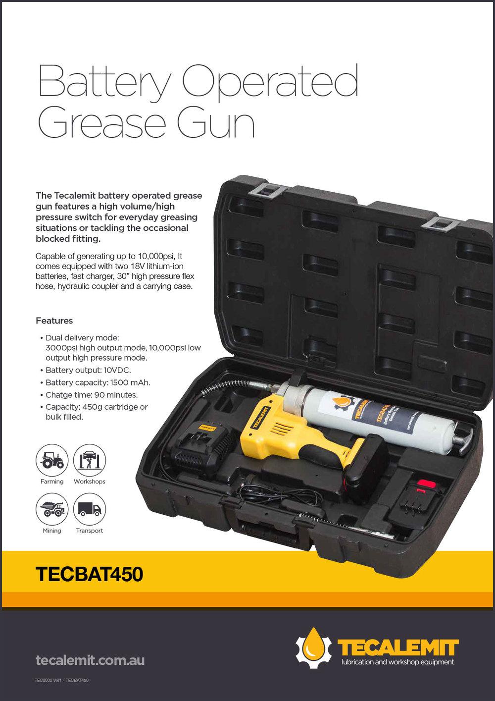 TECBAT450 Product Info