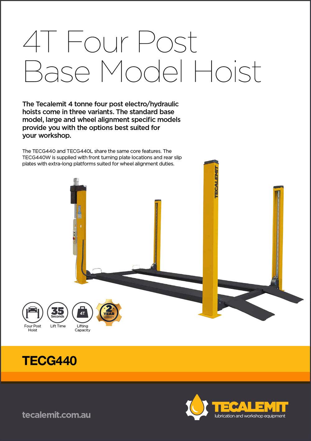 TECG440 Product Info