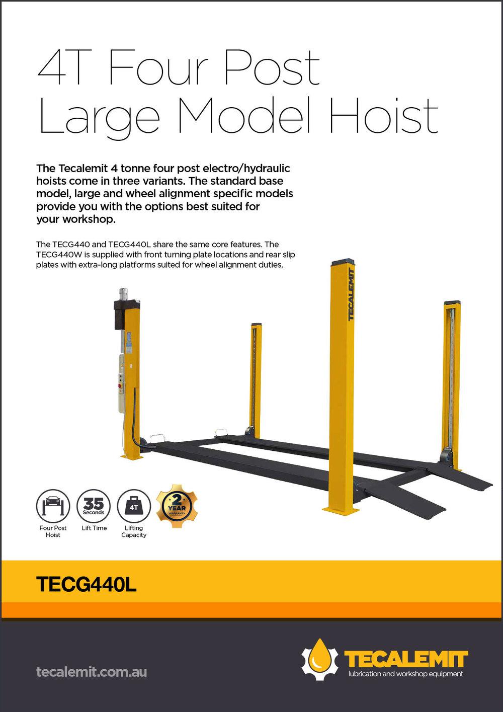 TECG440L Product Info