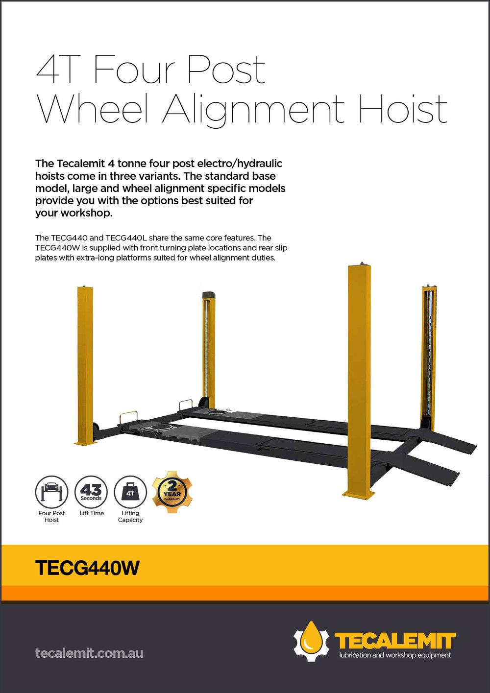 TECG440W Product Info