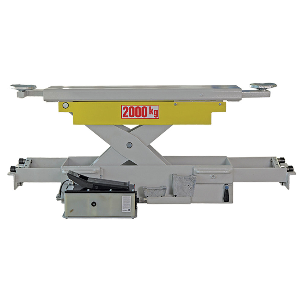 TECGJ20A - 2 Tonne Air Operated Jacking Beam