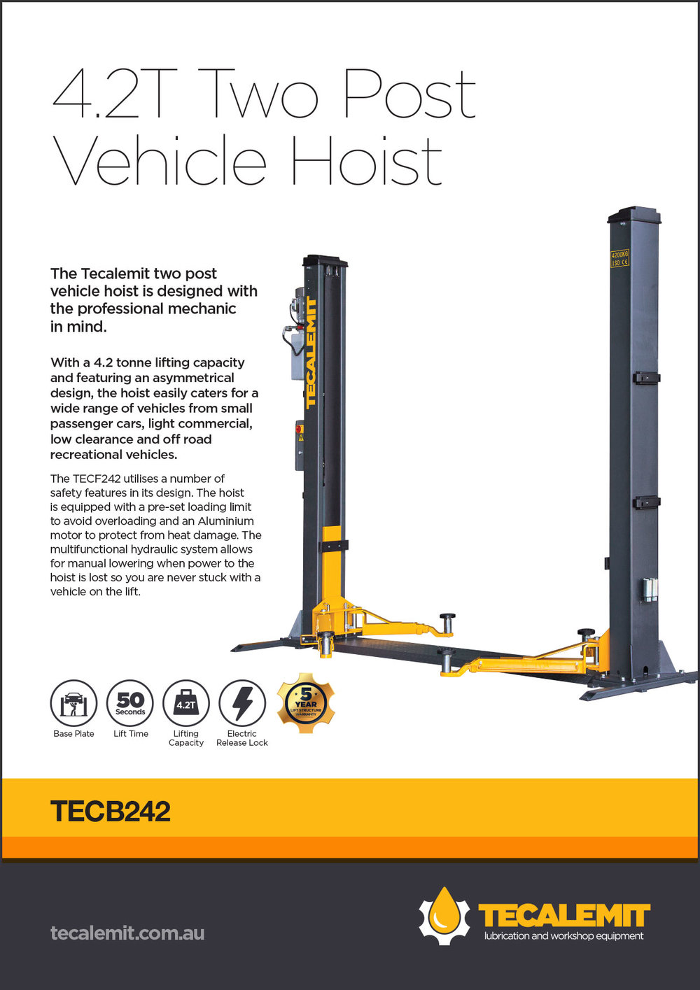 TECB242 Product Info