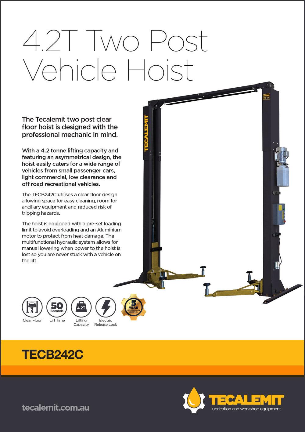TECB242C Product Info