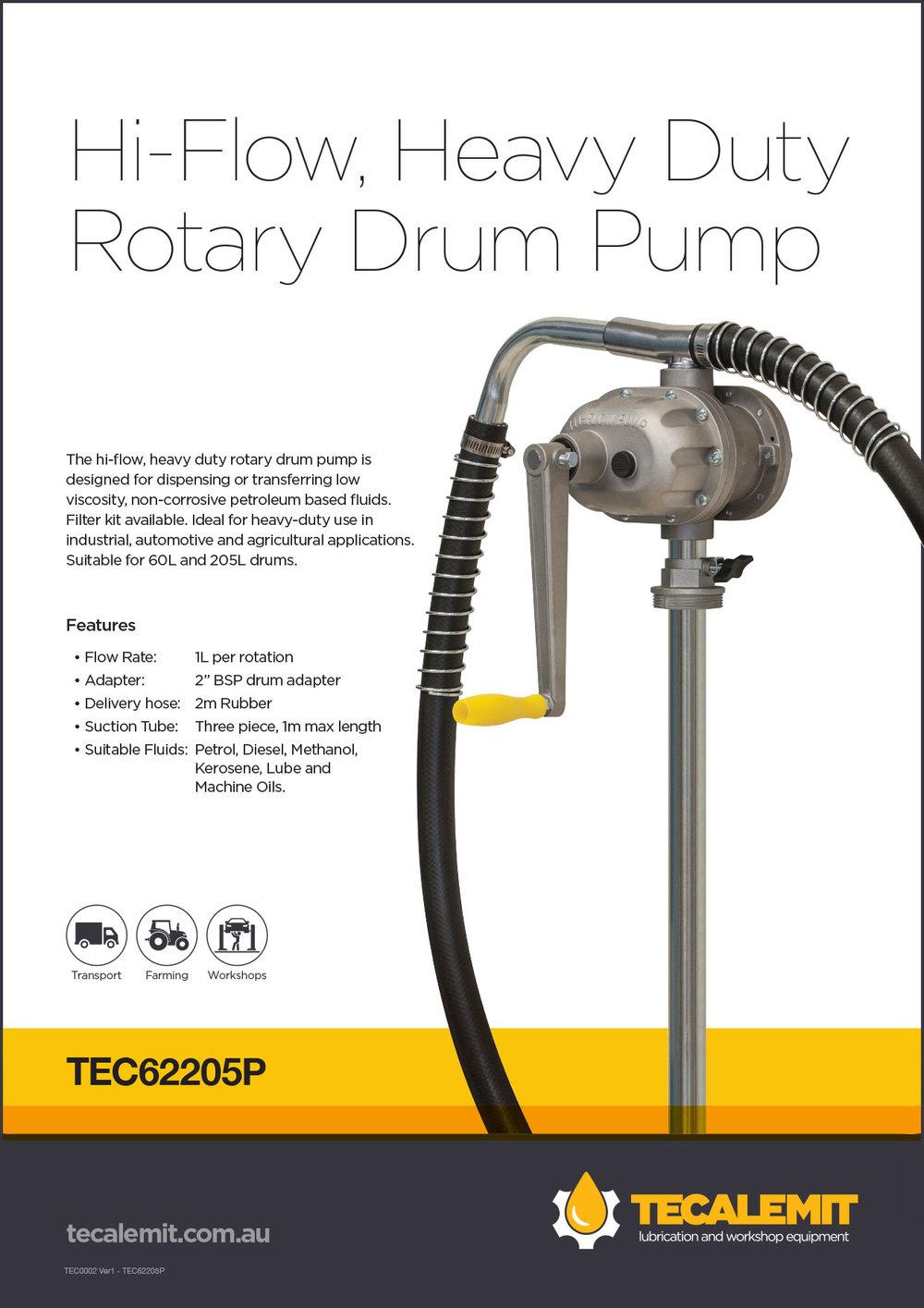 TEC62205P Product Info