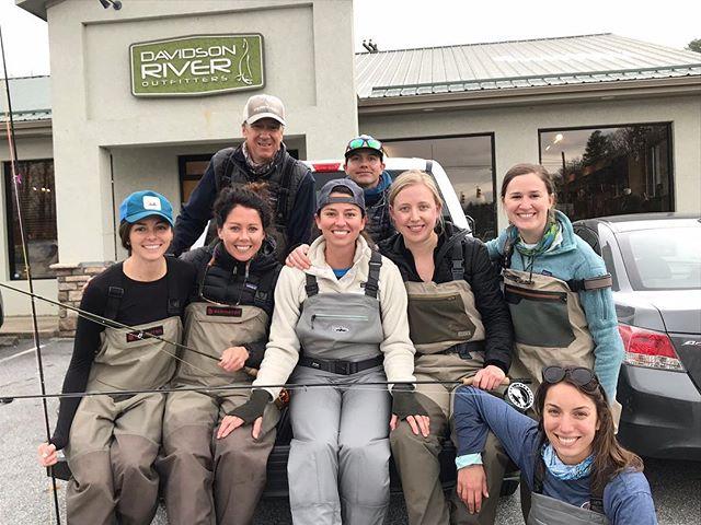 Still floating after an incredible weekend on the Davidson River with these ladies. Thanks to @davidsonriveroutfitters for leading us to the fish! 🎣 @bsuemurph @kendal.scott.cooper @kromara @ella_yates . . . . . . #flyfishing #fishing #optoutside #womenwhoflyfish #flyfishinggirls #davidsonriver #davidsonriveroutfitters