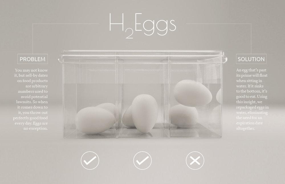 H2Eggs — Candice Schlax