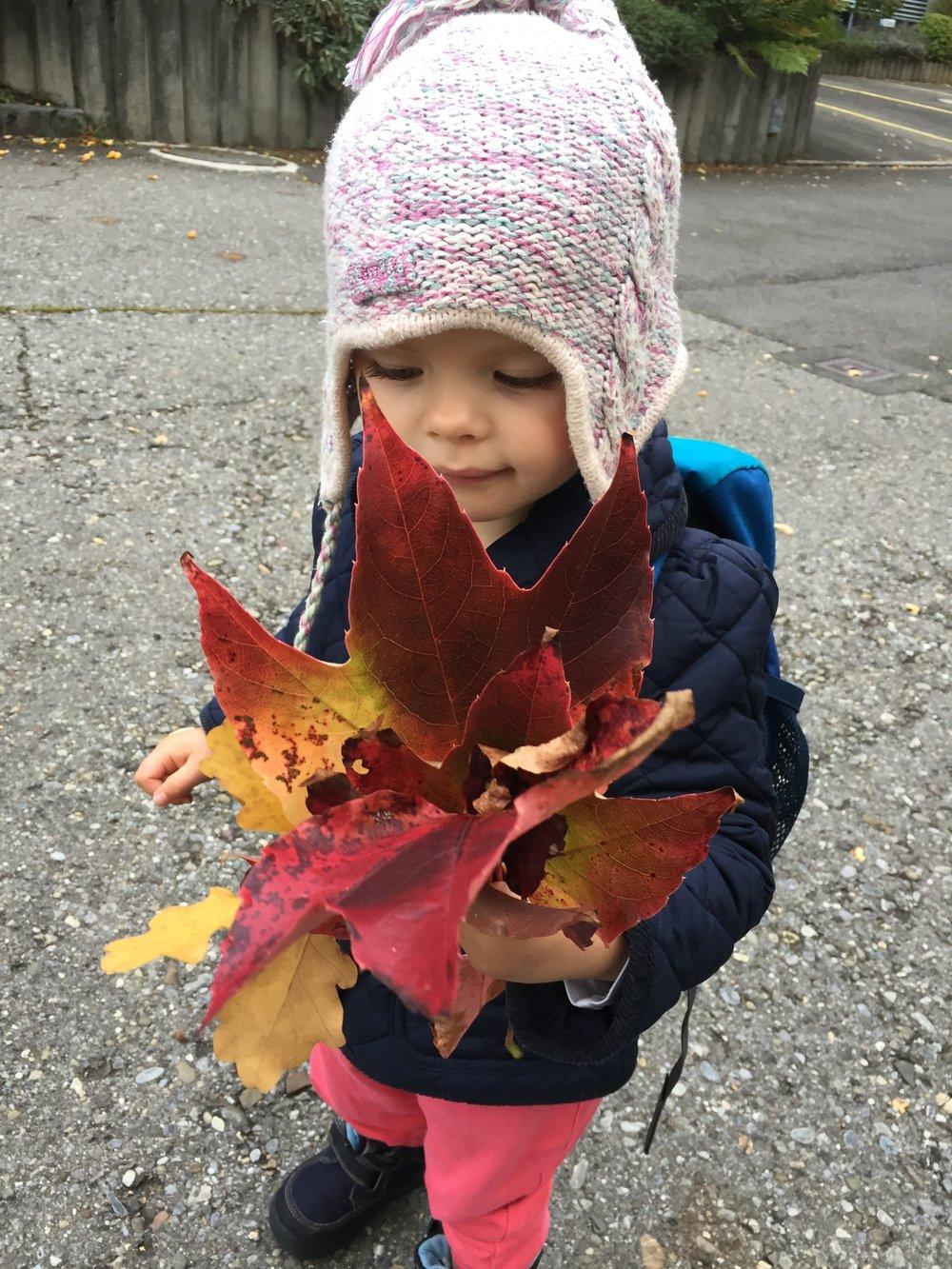 autumn in switzerland with kids