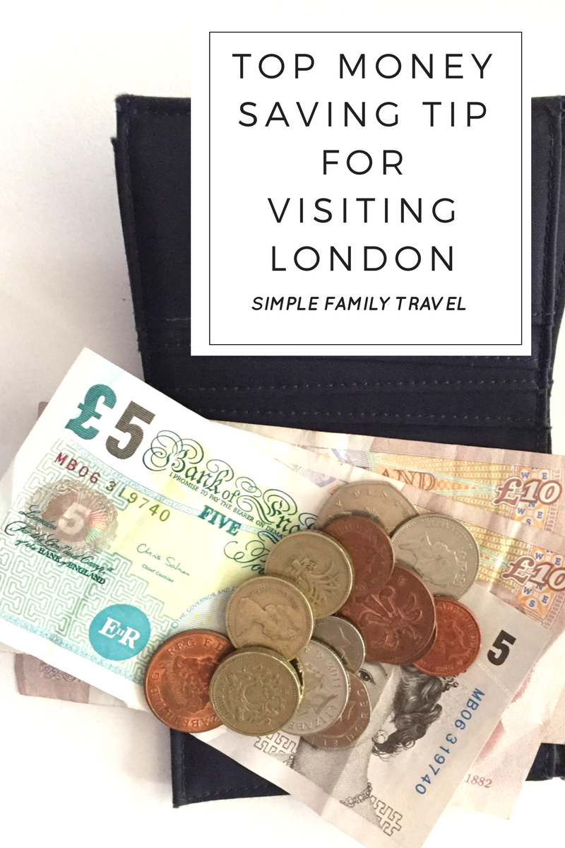 Top Money Saving tip for visiting Lodon