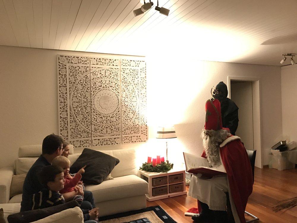 Christmas in Switzerland - Samichlaus