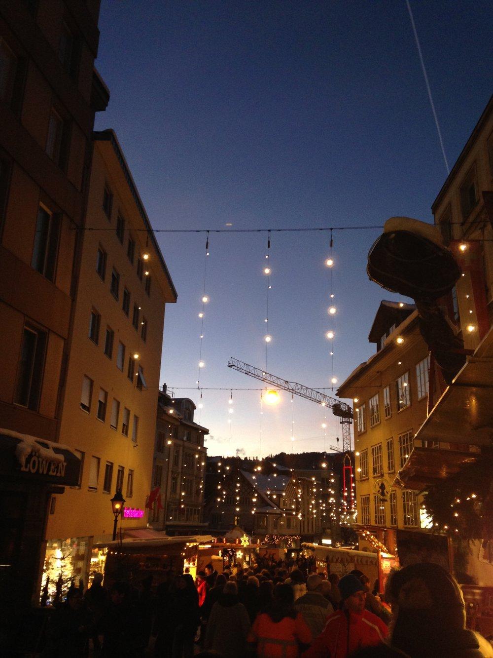 Christmas in Switzerland - Einsiedeln Christmas Market