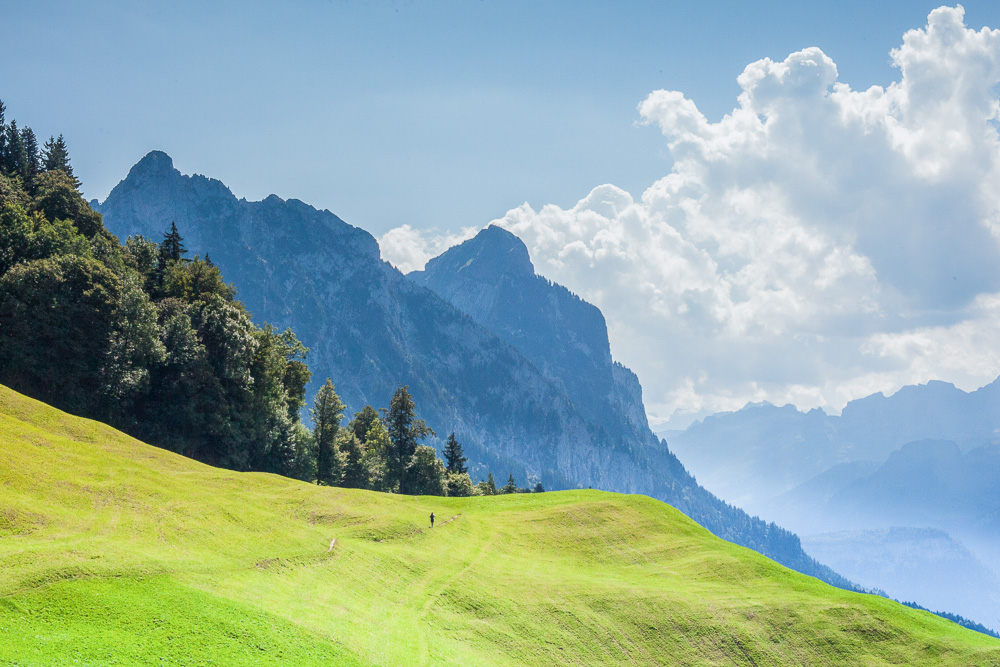 Family Friendly Switzerland, Hiking is the national summer past time.