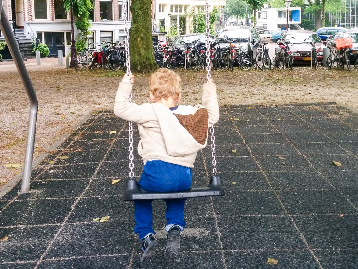 Check out the many playgrounds in Amsterdam Photo: by Karlien