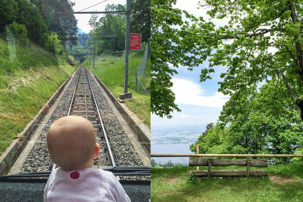 Take the Zugerberg Bahn up the mountain and enjoy beautiful views.