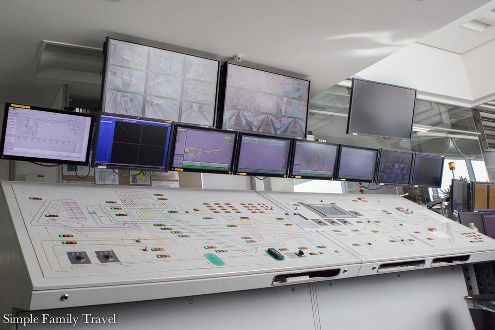 The Baggage Area Control center