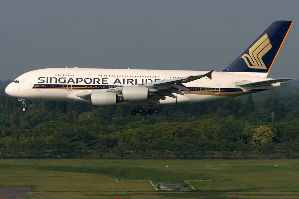 Singapore Airlines A380 is one of three A380's that land at Zürich Airport daily. Photo Credit: Singapore Airlines