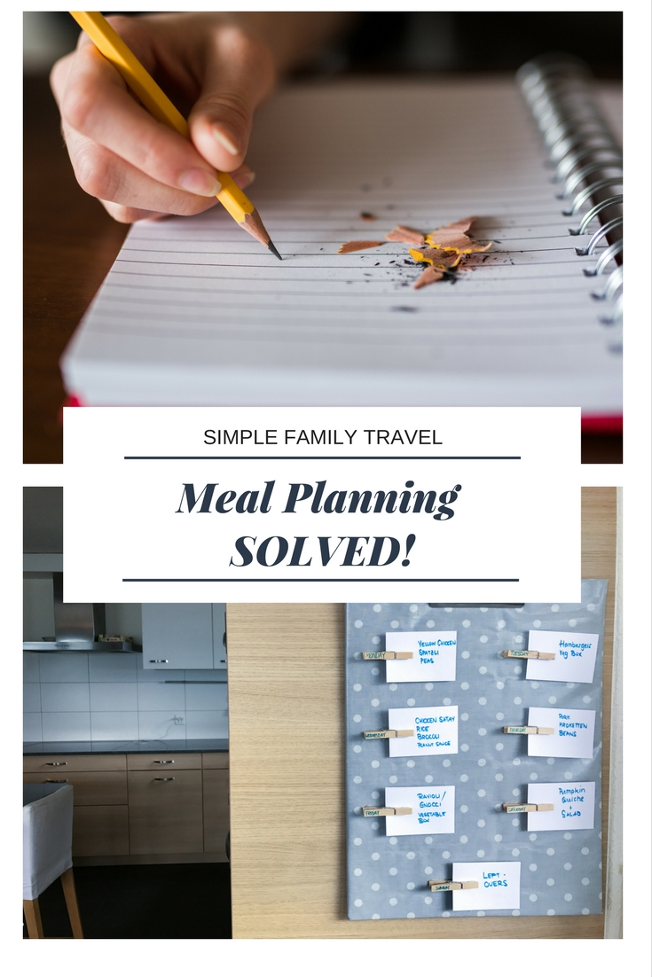 Meal Planning Solved - Simple Family Travel