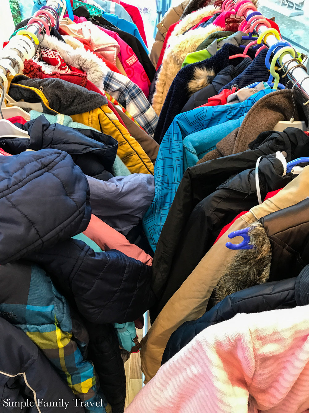 I try to buy second hand when I can, especially kids clothes, they grow so quickly. I also help organise the local second hand kids clothing sale.