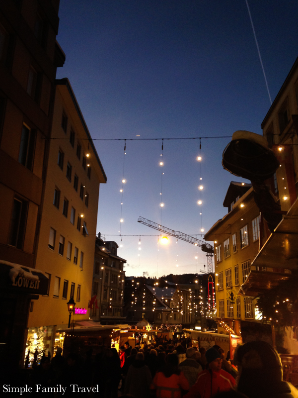 Simple Family Travel: Einsiedeln Christmas Market