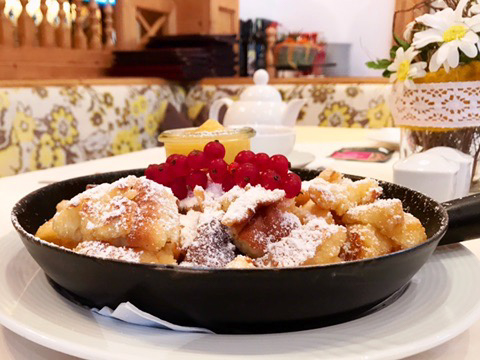 Don't leave Austria without trying Kaiserschmarren!
