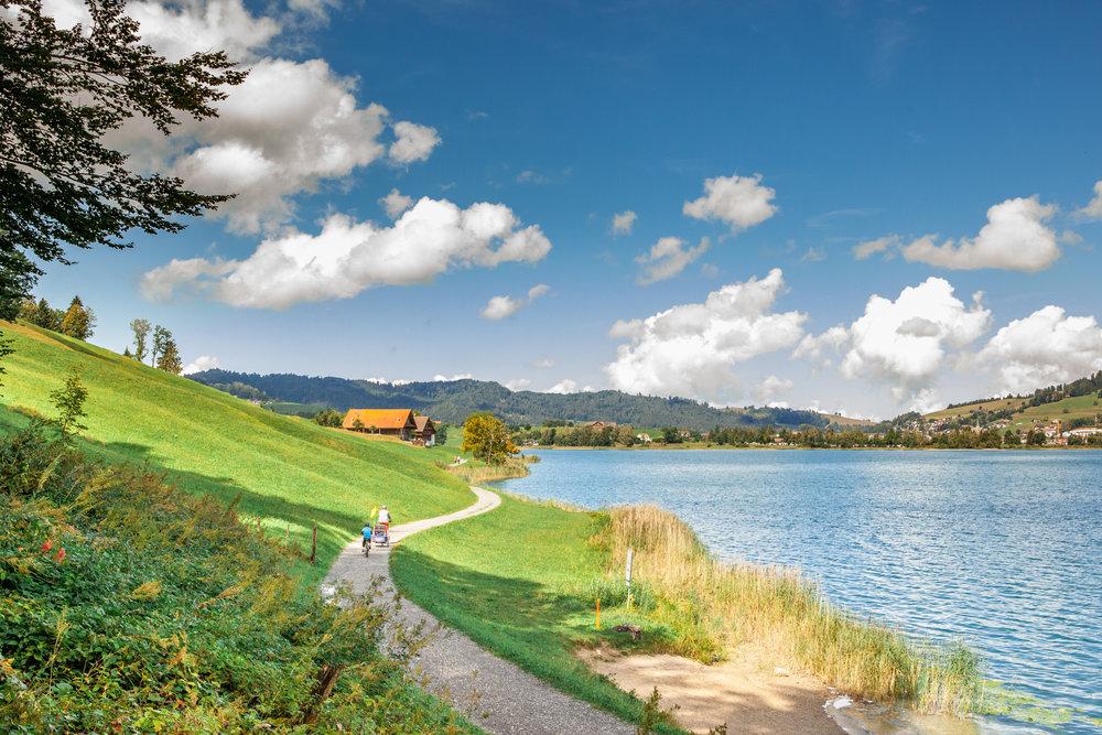 Bike ride in Zug for KinderRegion -