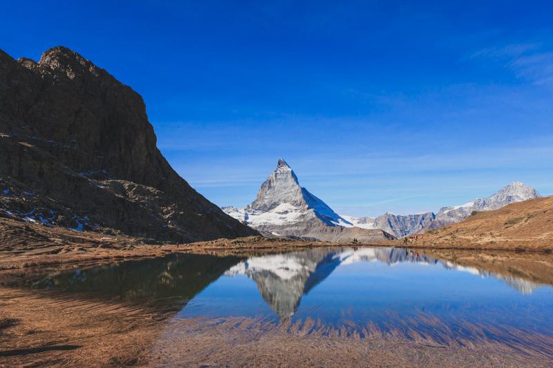 The Matterhorn from Riffelsee