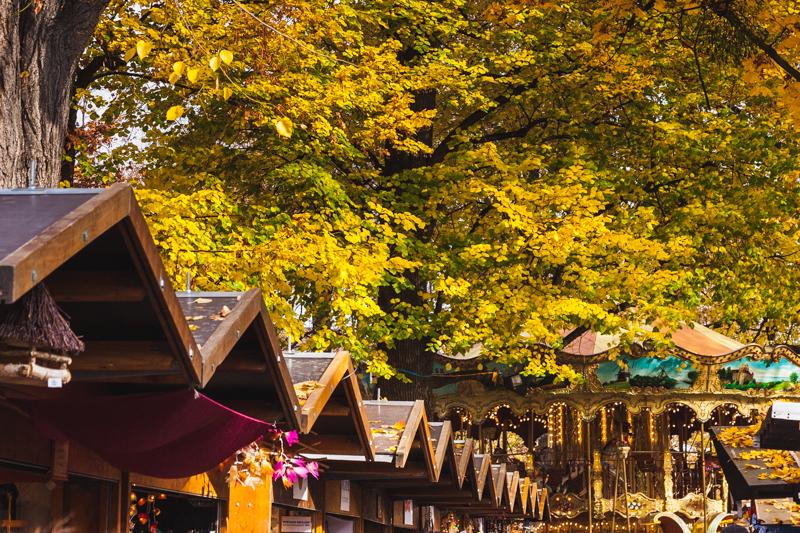 Herbstmesse on Petersplatz, Basel