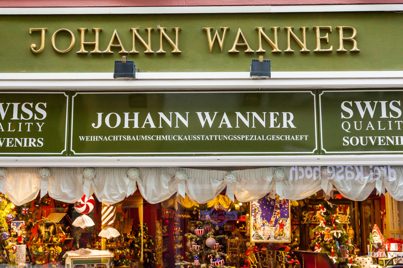 Christmas Shop in Basel
