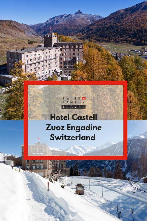 Family friendly hotel in Engadine, Switzerland