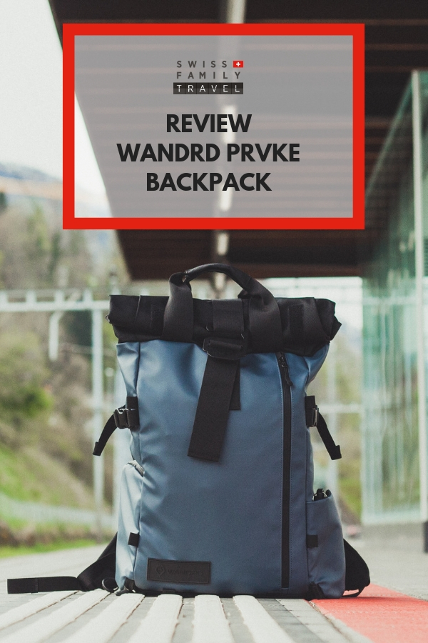 Review of the PRVKE backpack for photographers