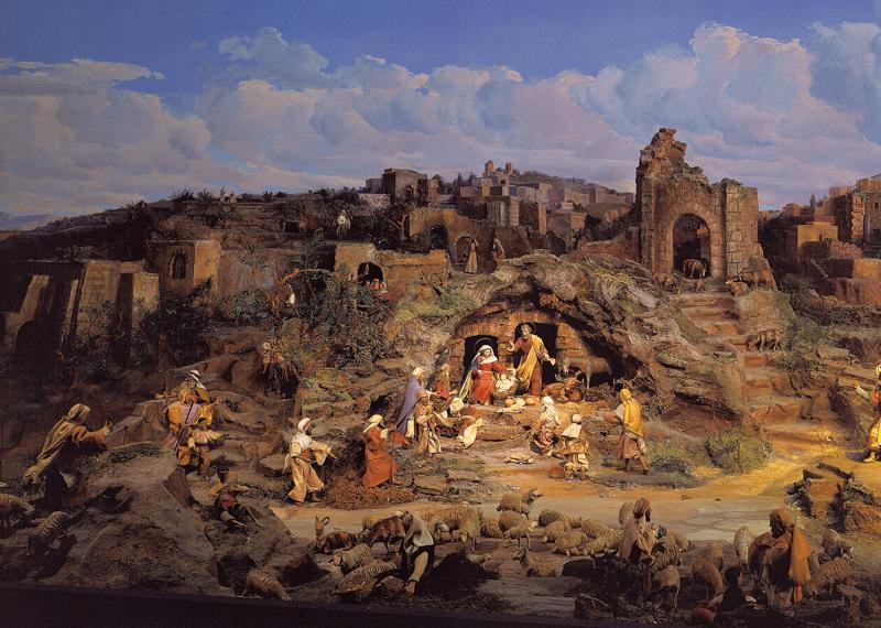 Image provided by «DIORAMA Bethlehem, Einsiedeln»