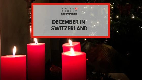 How do the Swiss celebrate December