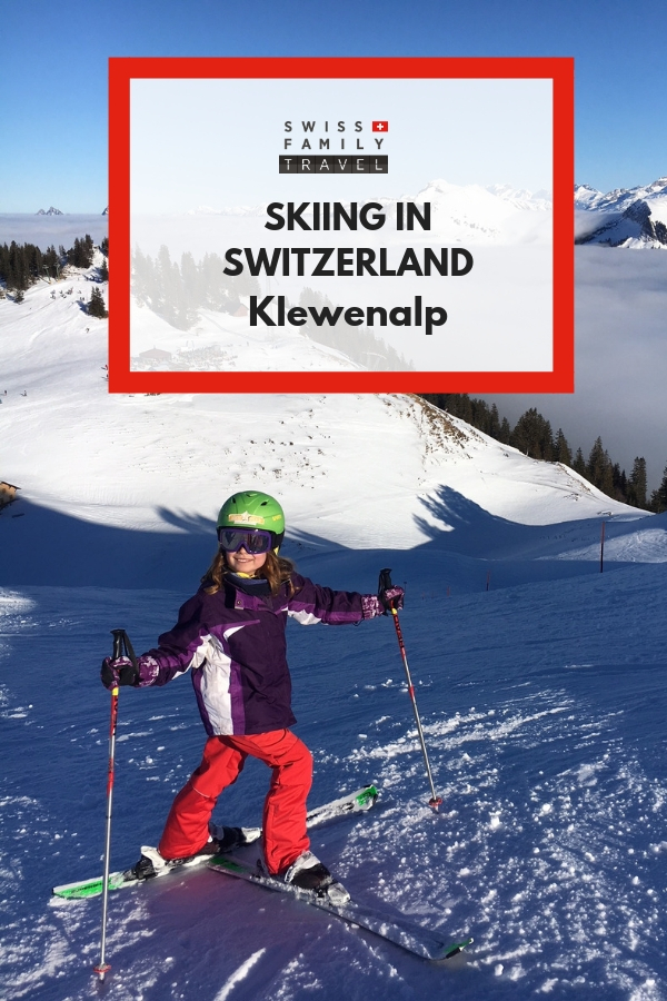 Family Friendly Skiing in Switzerland at Klewenalp