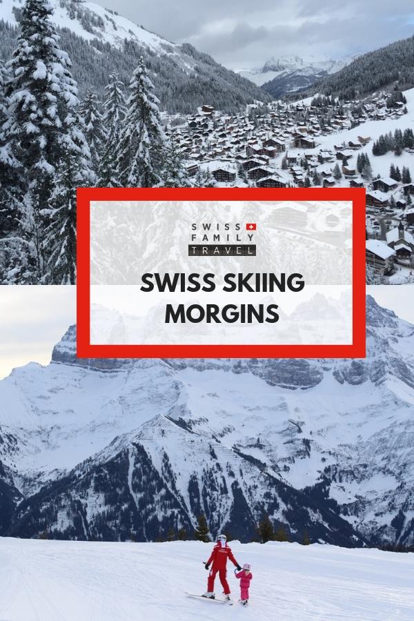 Family friendly skiing in Switzerland includes Morgens near Geneva