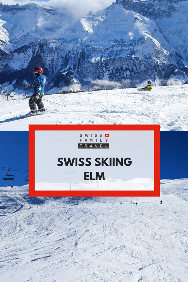 Family friendly ski piste near Zurich - Elm
