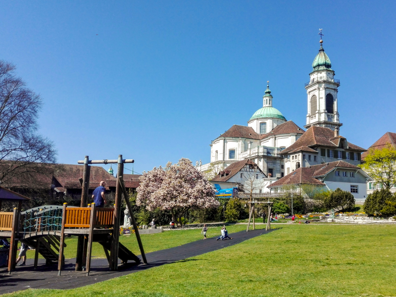 15 places you must visit with your family in Switzerland. Hana from Our Swiss Experience suggests Solothurn.