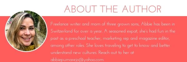 Abbie Pumarejo - freelance writer based in Zug.