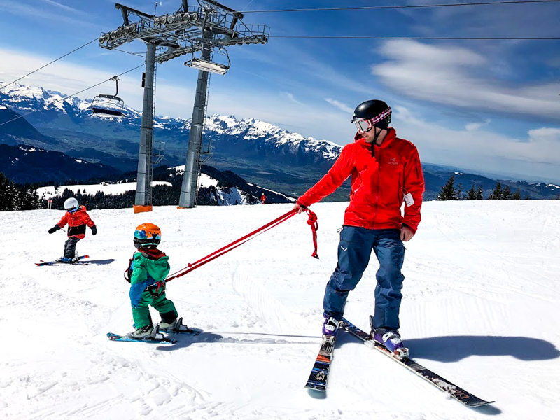 Skiing with toddlers and kids