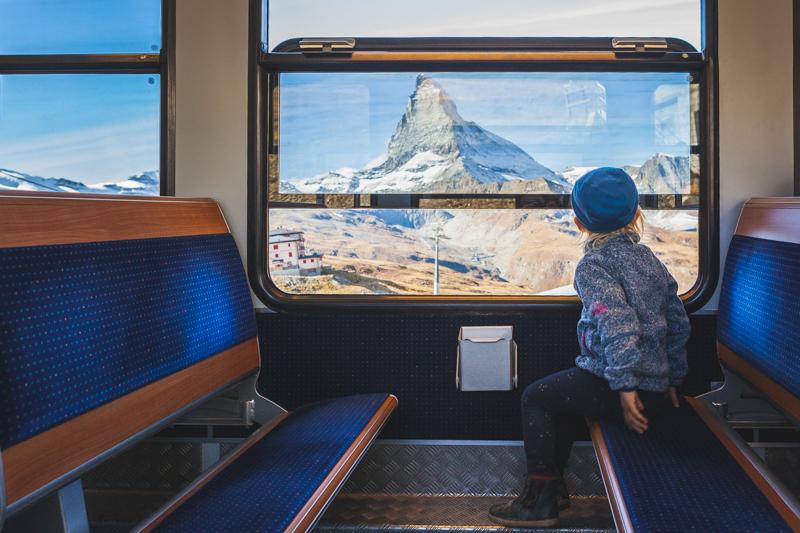 Travel Switzerland by train