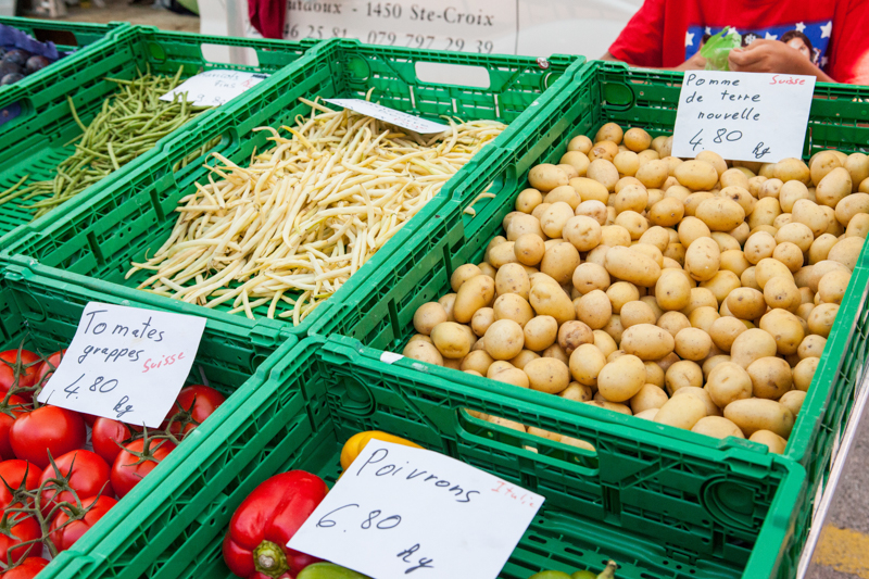 Eat local produce while visiting Switzerland