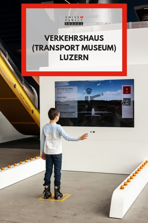 Looking for something to do in Luzern with kids? Visit the Transport Museum.
