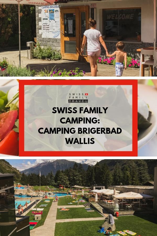 Brigerbad camping and thermal baths
