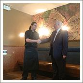Governor Handshake