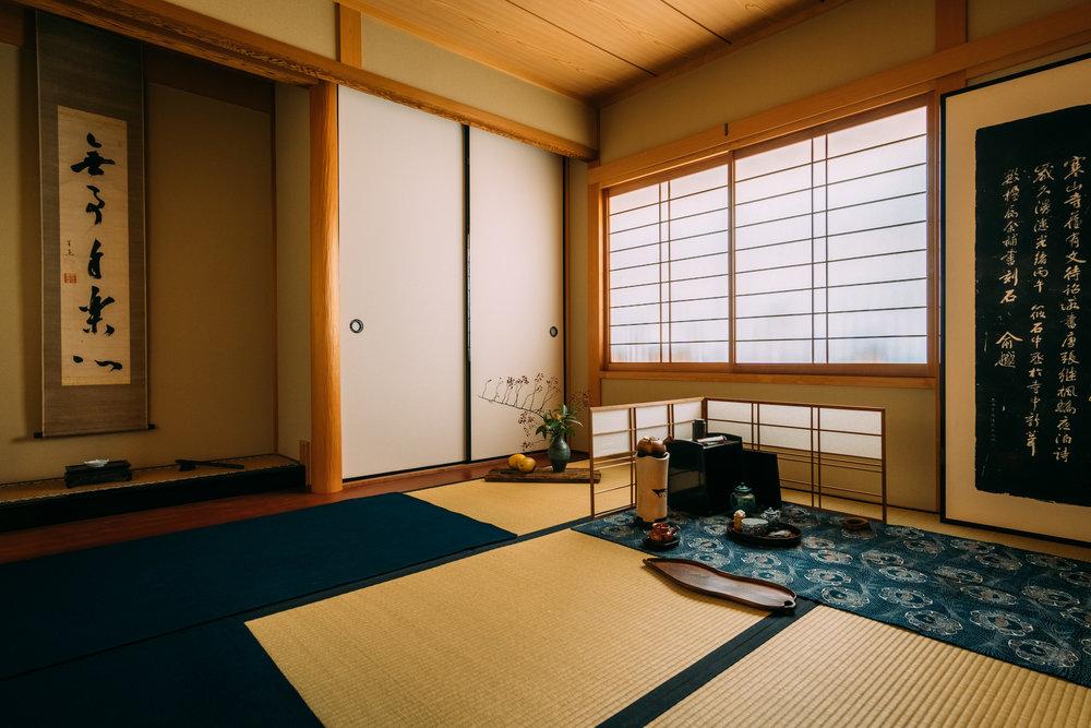 煎茶道「慶山社」の教場でも使用しております。