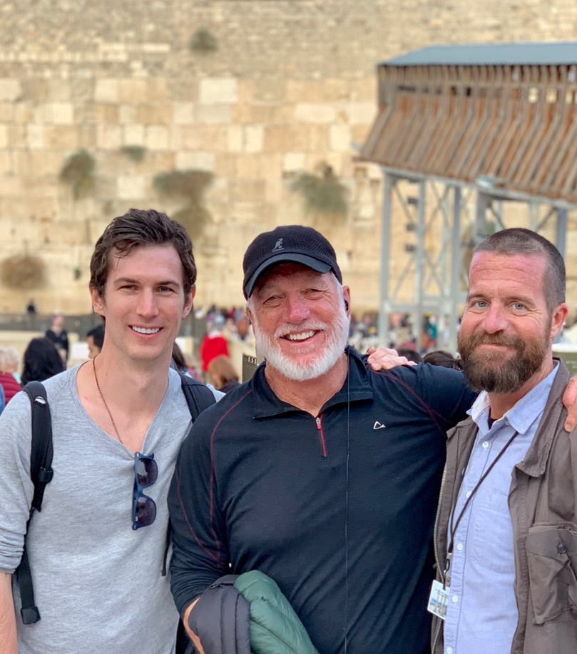 Ben, Jon, and Pete ~ Israel 2018