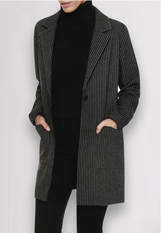 Striped Margot Jacket