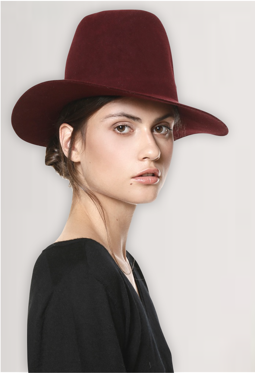 Handmade Red Hat